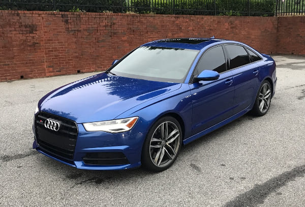 2017 Audi S6 FX 35% 3M film and 50% CS 3M film front windshield