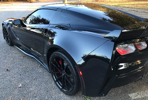 3M film  5% all around and 35% on Winshield in this corvette Z06