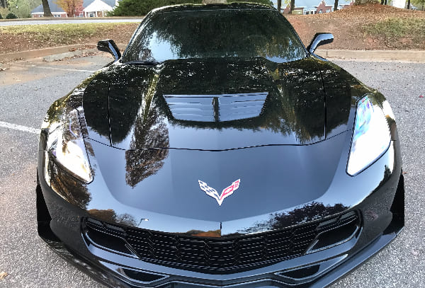 3M film  5% all around and 50% on Winshield in this corvette c7